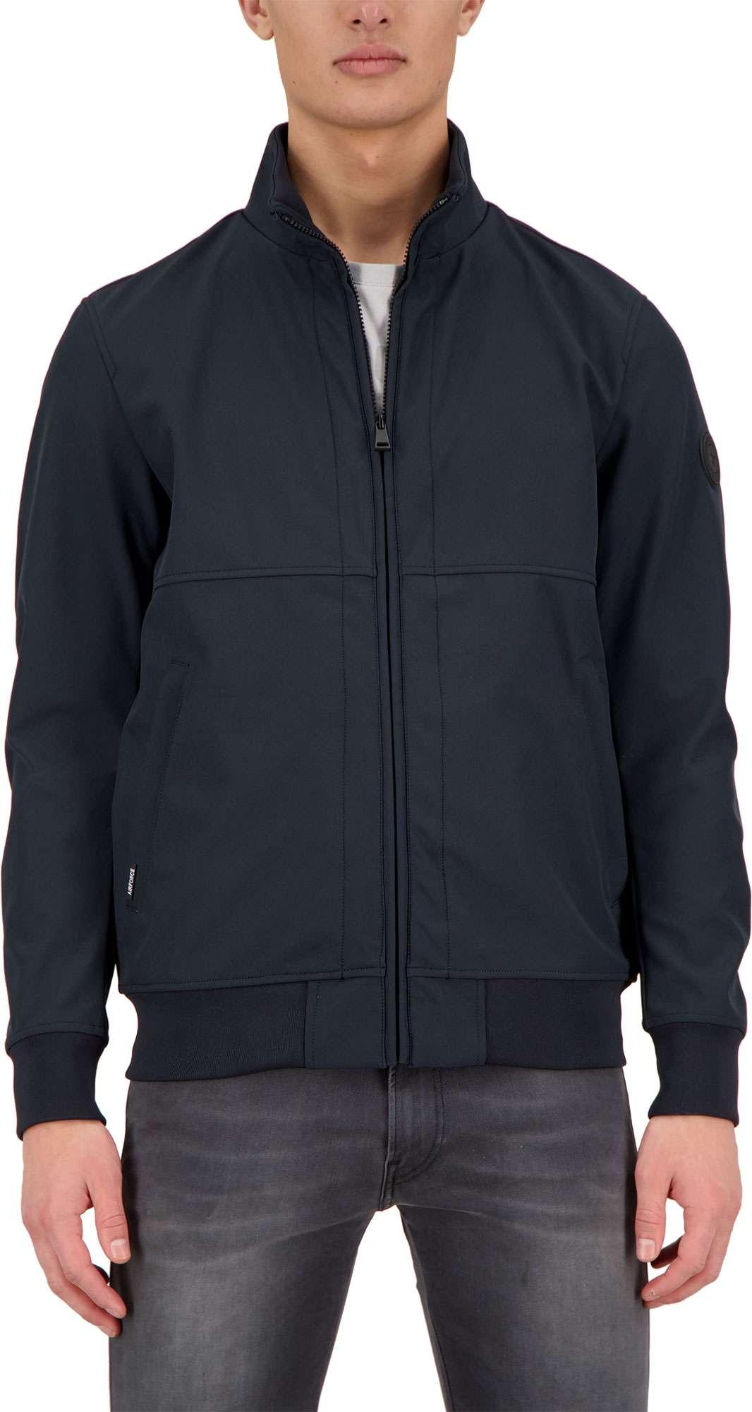 Softshell jacket dark navy blue