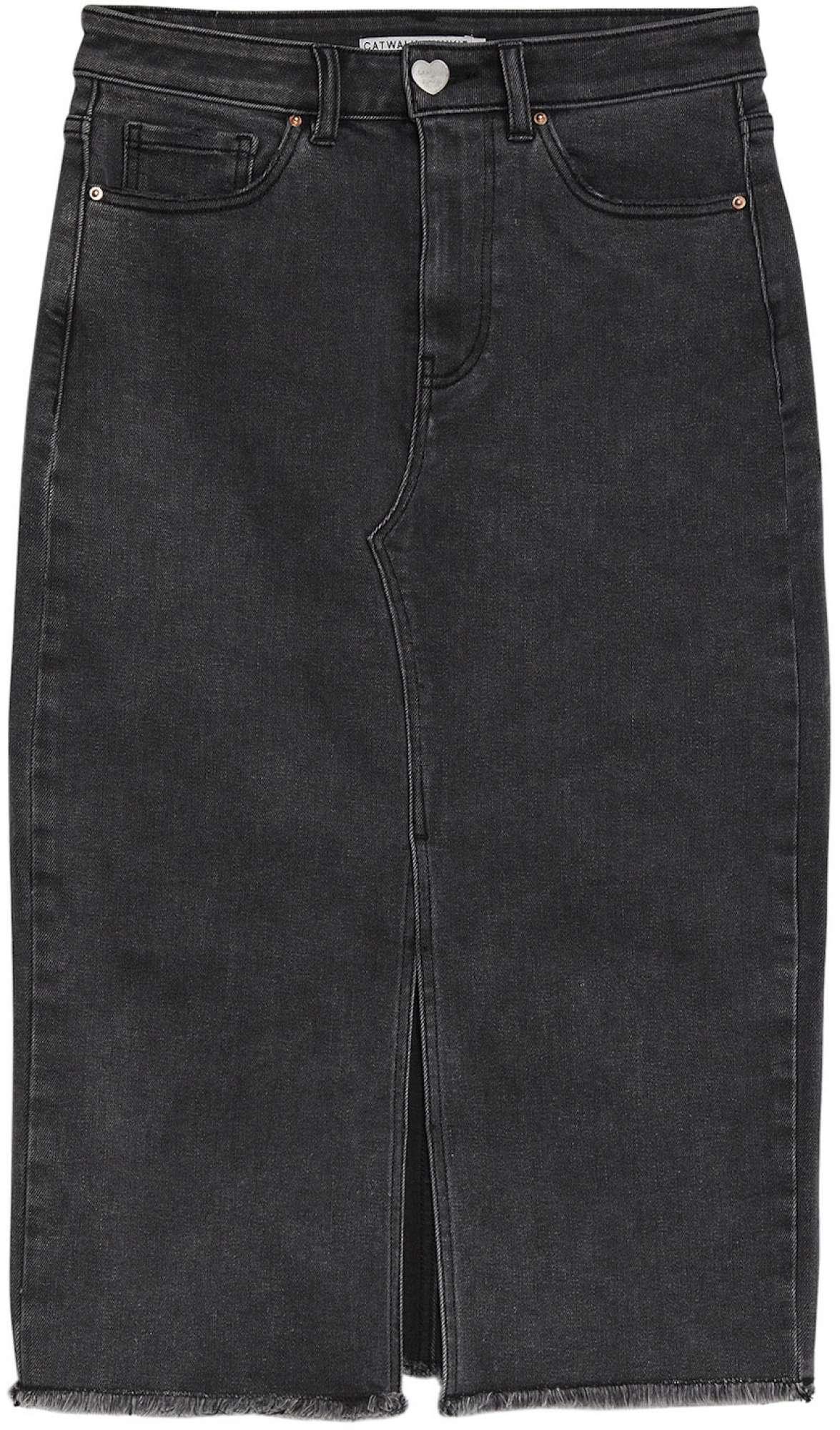 Skirt jean black