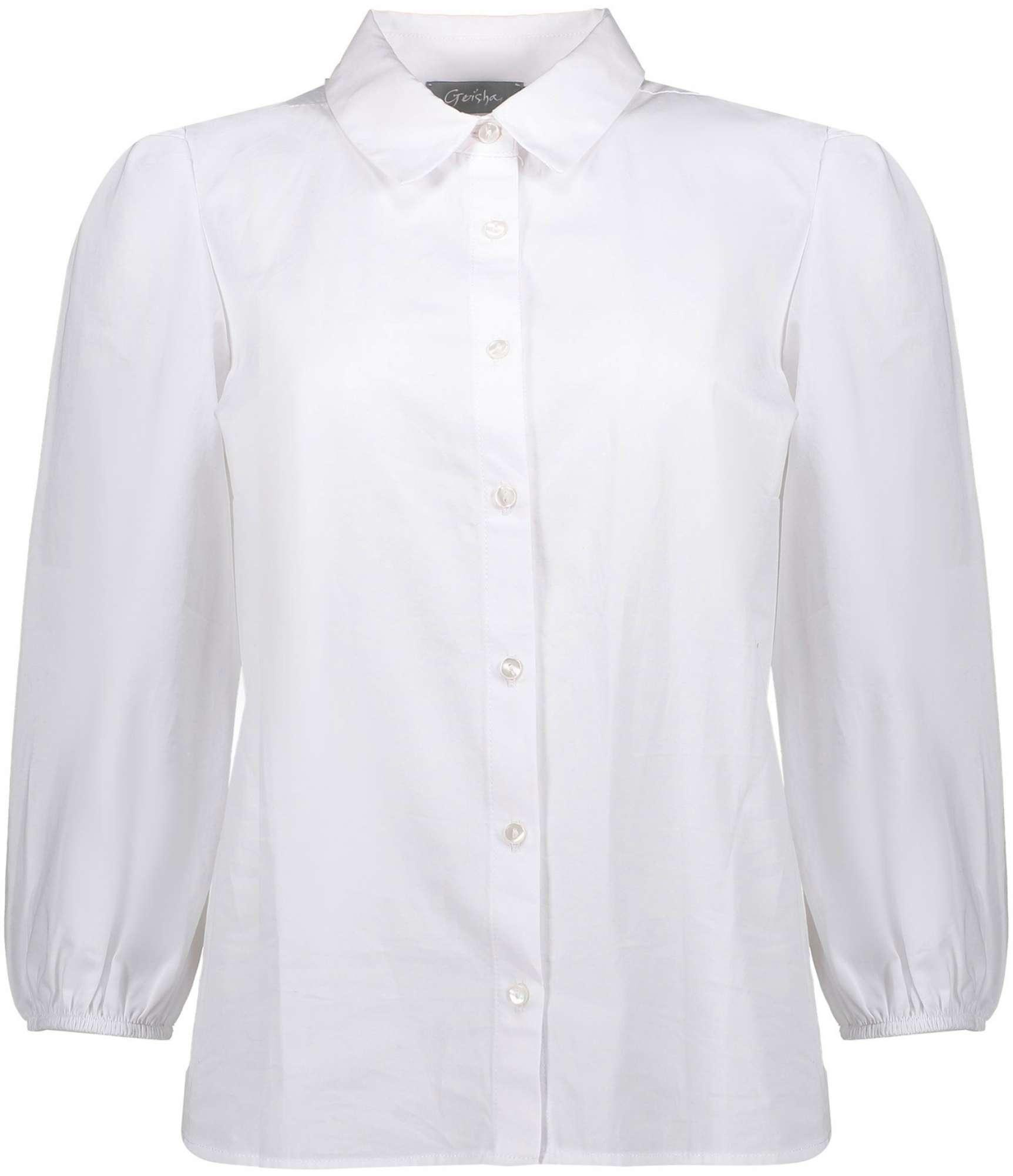 Blouse white cotton