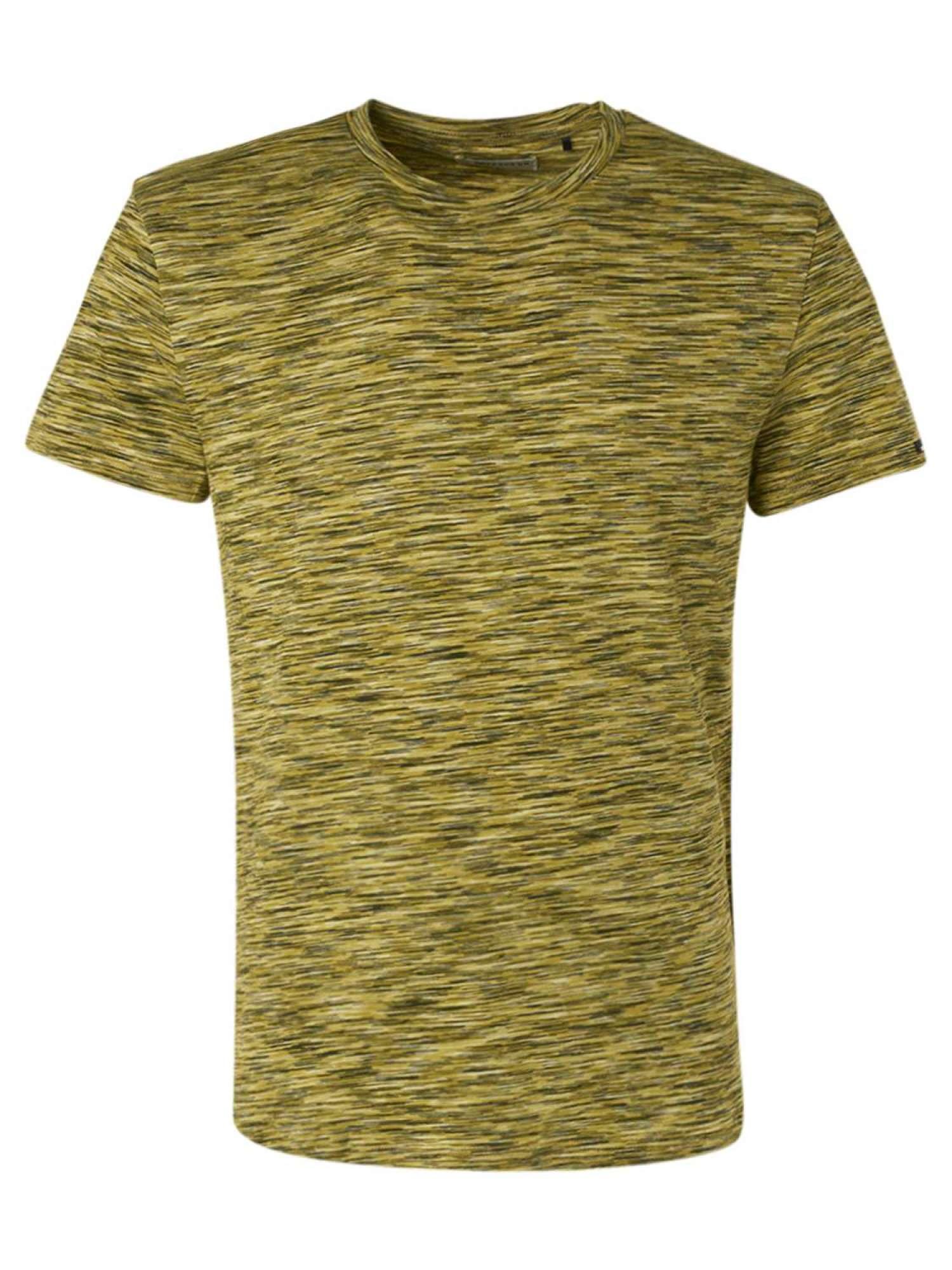 T-shirt crewneck multi coloured yar lime