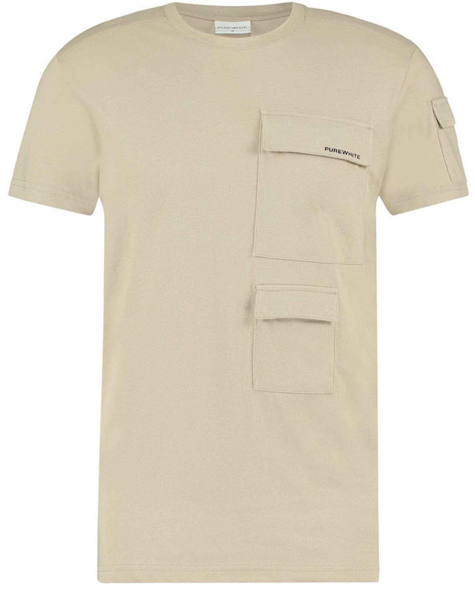 T-shirt 3 pockets sand