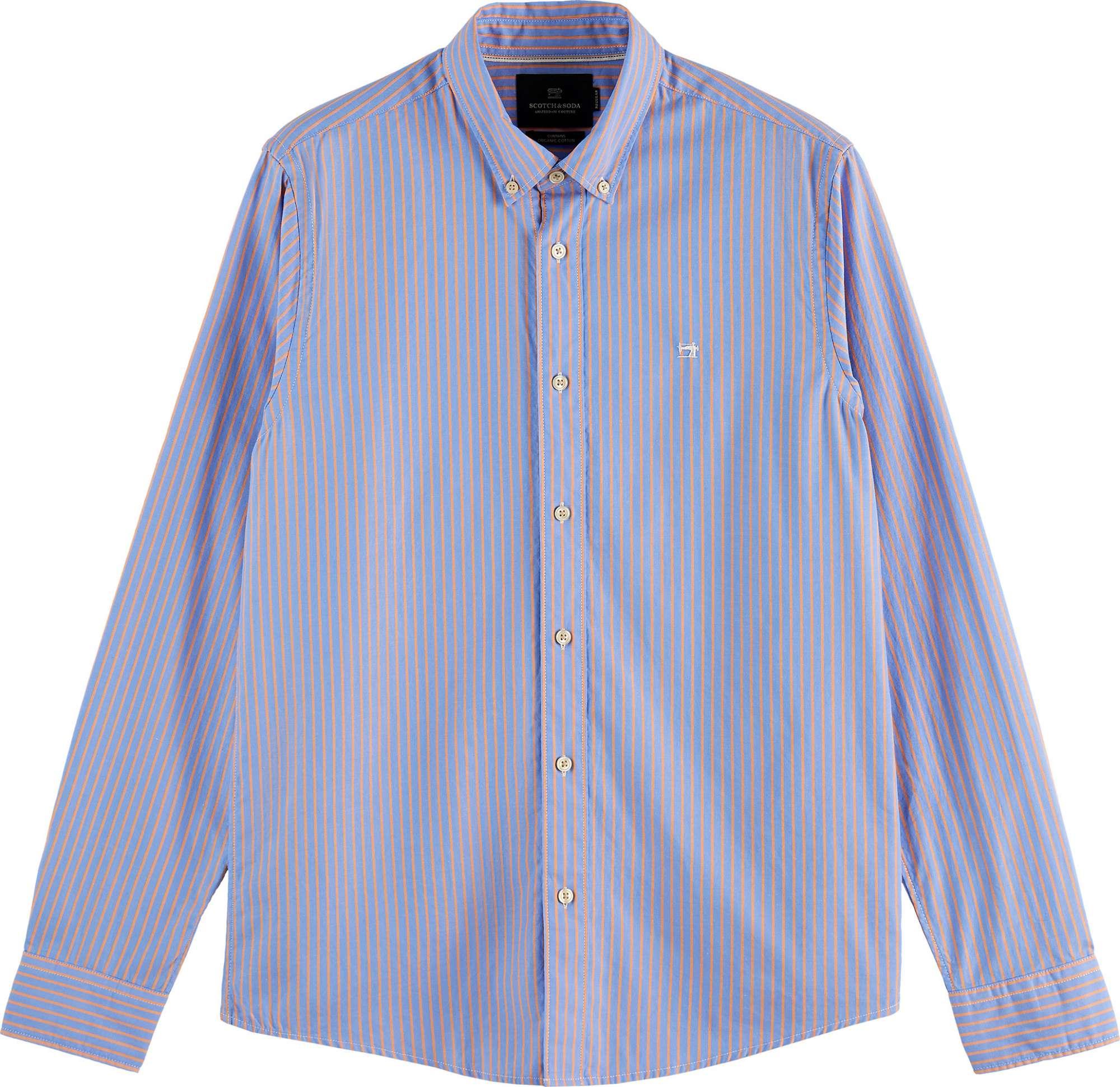 Striped oxford shirt i combo a