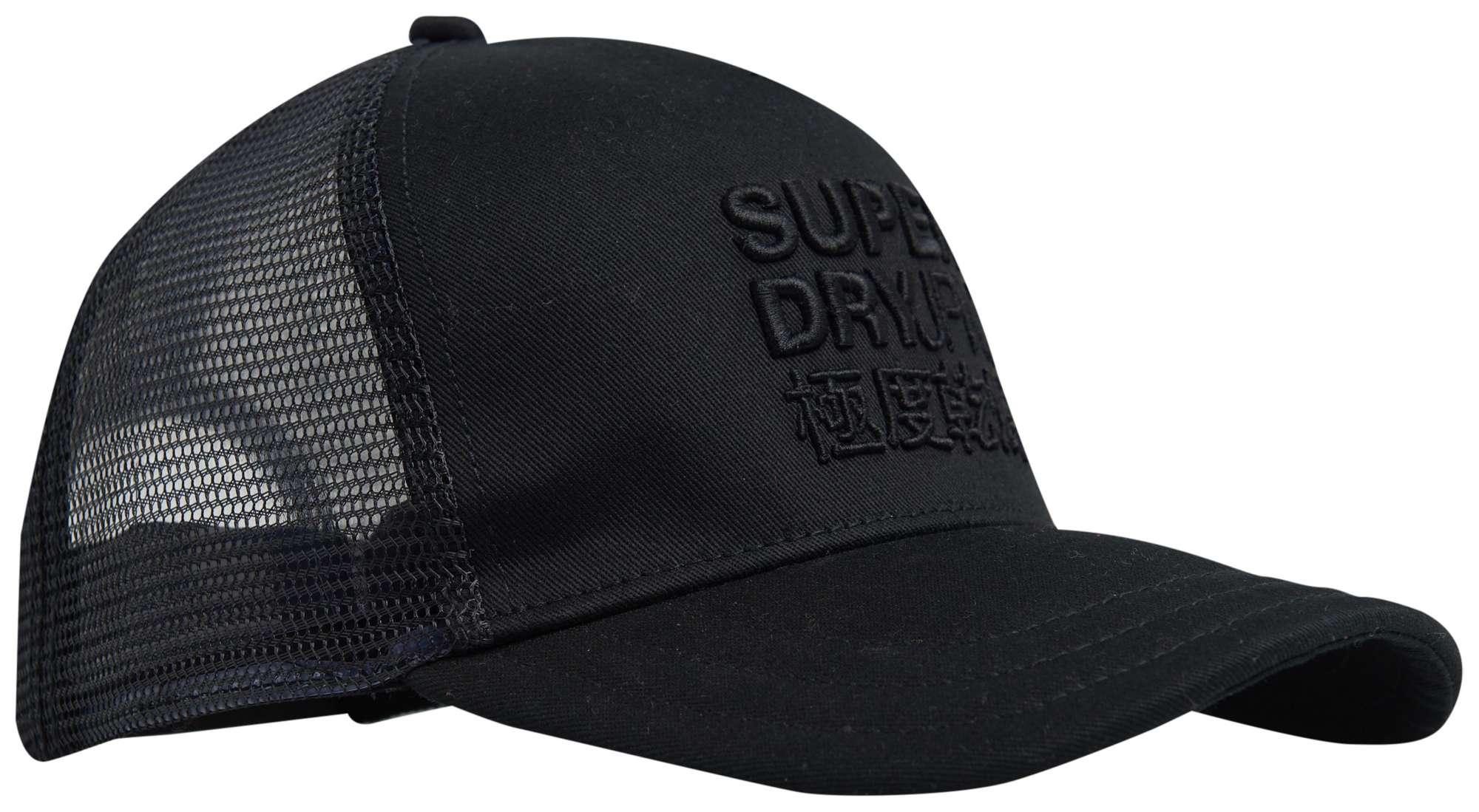 Logo trucker cap black