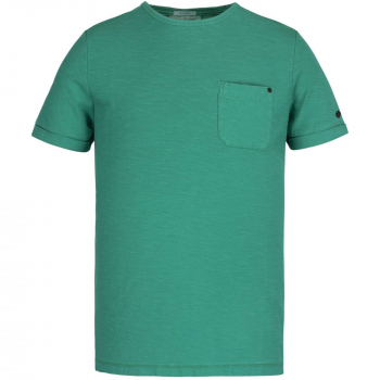Short sleeve r-neck garment dyed s parasailing