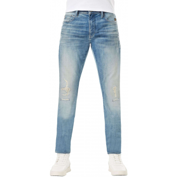 Lancet skinny mid blue denim