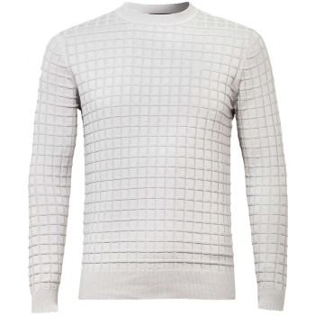 Core table r knit l\s grey
