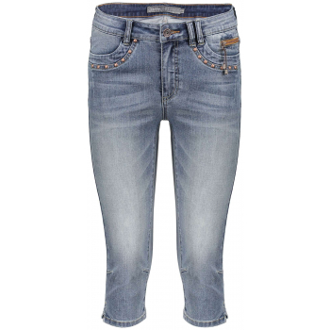 Capri jeans blue denim