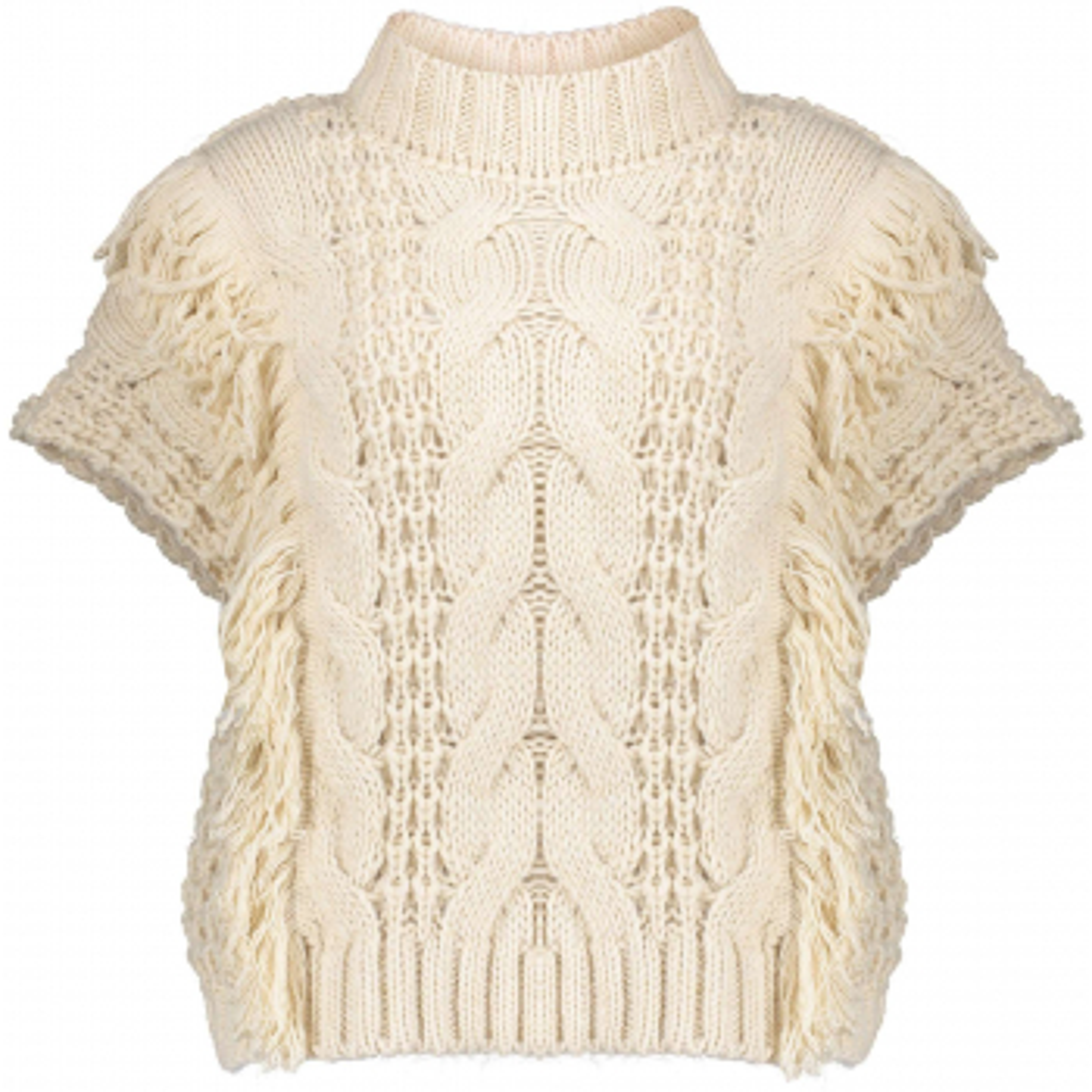 Spencer sleeveless pullover sand