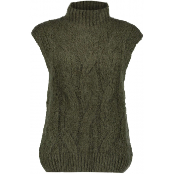 Spencer sleevelless pullover army