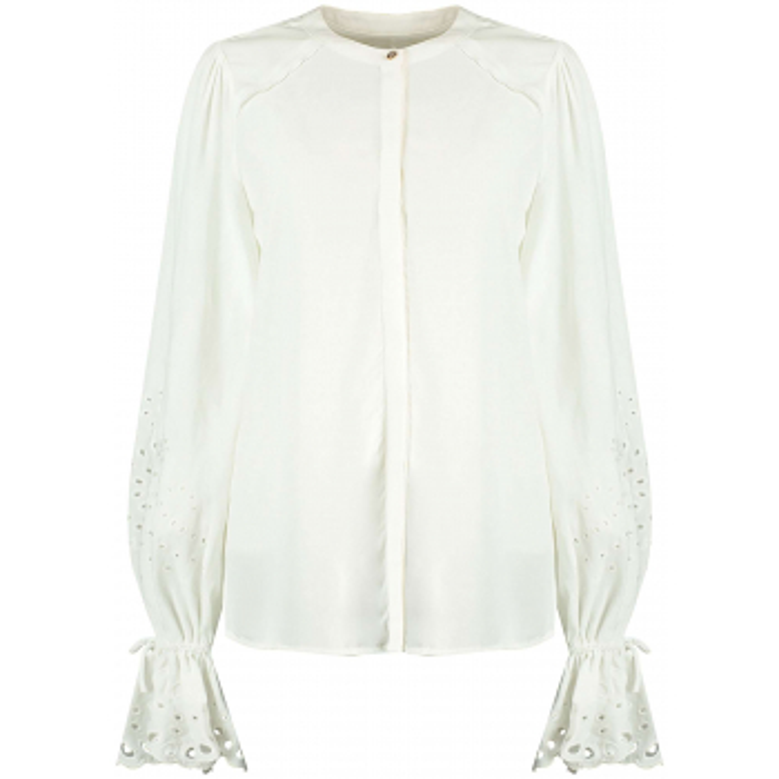 Hayli longsleeve blouse off white