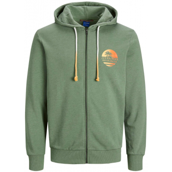 Laguna sweat zip hood sea spray