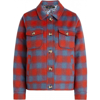 Sile shirt jacket seattle fire red