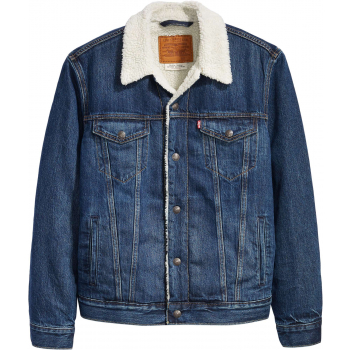 Type 3 sherpa denim trucker jacket