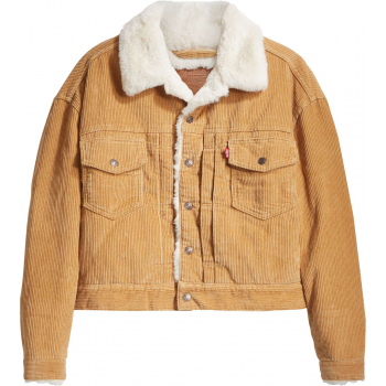 New heritage cord trucker jacket iced coffie