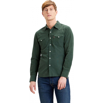 Barstow western slim shirt sycamore