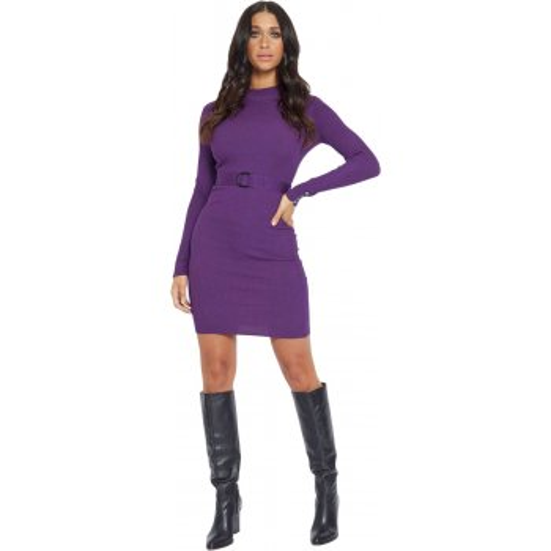 Dress yelena purple