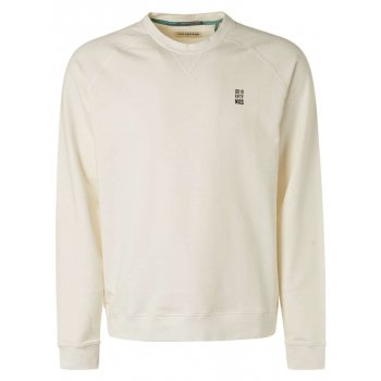 Sweater crewneck stone washed offwhite