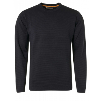 Pullover crewneck relief garment dy night