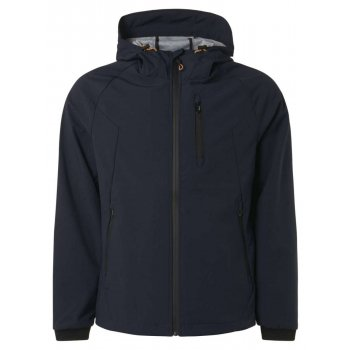 Jacket mid long hooded stretch night