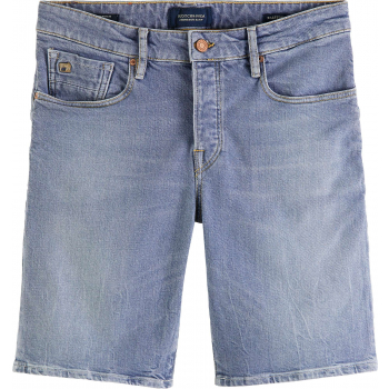 Ralston short - recycled cotton - p pop of smoke