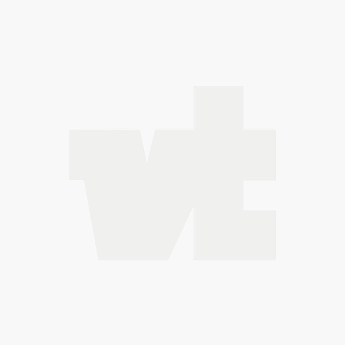 Organic cotton blend sweat crewneck denim white