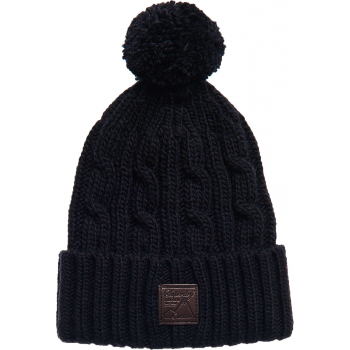 Trawler cable beanie eclipse navy