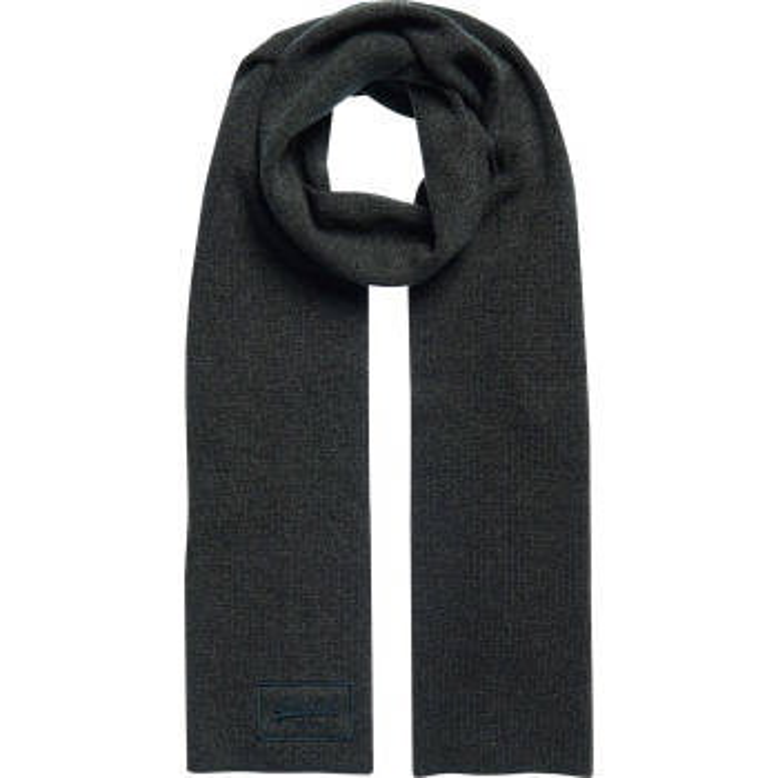 Vintage logo classic scarf khaki grit