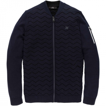 Bomber jacket cotton polyamide salute