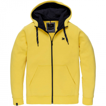 Hooded jacket full zip hooded swea super lemon