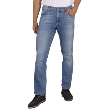 Greensboro mid. summer blue  stretch jeans