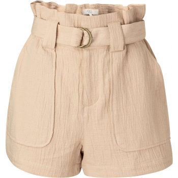 High waist cargo short frappe