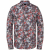 Long sleeve shirt print on fine po molten lava