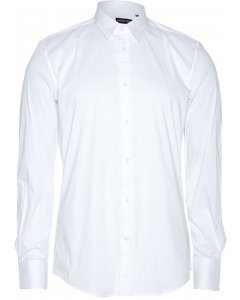 Timeless shirt long sl. super slim white 1000