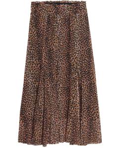 Skirt hazel tabacco brown