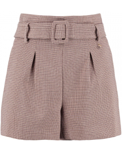 Tommy short brown check