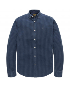 Long sleeve shirt denim stripe  fa real indigo