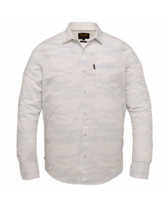 Long sleeve shirt all-over print o bright white