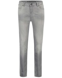 The jone slim fit light grey washed jeans