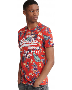 Super 5s tee red