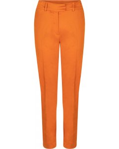 Trousers burned orange
