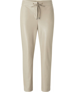 Faux leather trousers eucalyptus pu