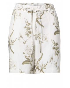 Woven high waist shorts